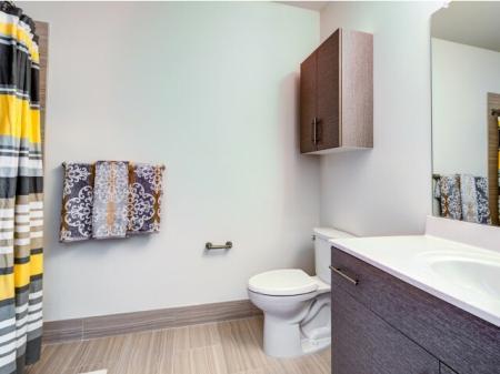 Ornate Bathroom | Meridia Lafayette Village