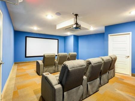 Resident Media Room | Meridia Lafayette Village