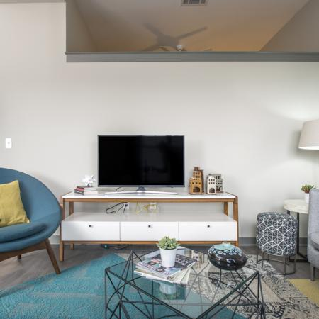 Spacious Living Room | Apartments in Downtown Nashville | Eastside Heights
