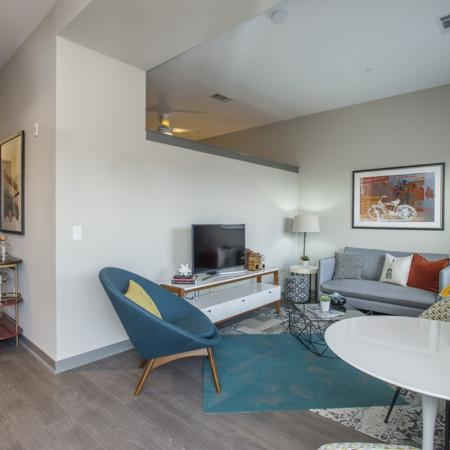 Luxurious Living Area | Apartments in Nashville | Eastside Heights