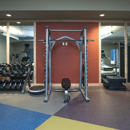 Cutting Edge Fitness Center | Nashville Tennessee Apartments | Eastside Heights