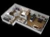 1 Bedroom Floor Plan B10