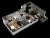 2 Bedroom / 2 Bath Floor Plan C3