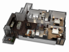2 Bedroom / 2 Bath Floor Plan C5