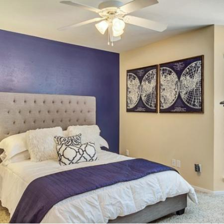 Spacious Master Bedroom | Apartments Homes for rent in Dallas, TX | Lincoln Crossing