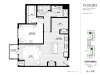 One Bedroom - Centennial Floor Plan