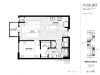 One Bedroom - Brickton A Floor Plan