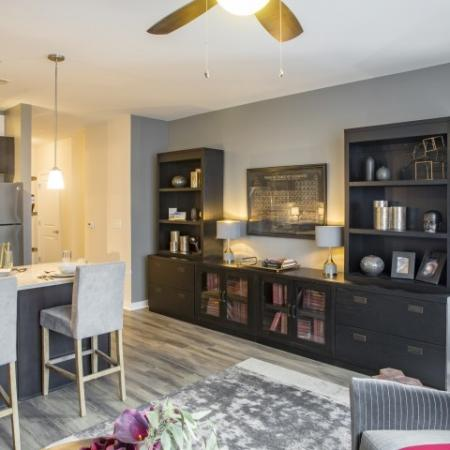 Living Space | apartments for rent castle shannon pa | The Ashby at South Hills Village Station