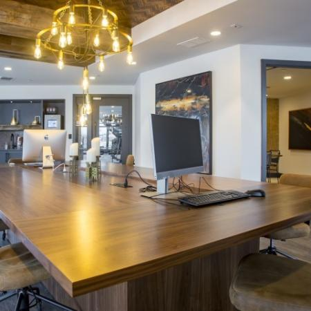 Business Center | st clair pa apartments | The Ashby at South Hills Village Station