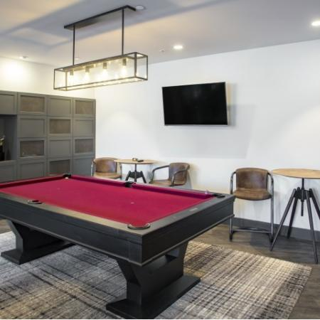 Billiards Table | st clair pa apartments | The Ashby at South Hills Village Station