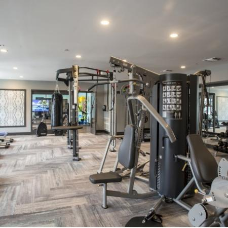 Fitness Center | apartments for rent castle shannon pa | The Ashby at South Hills Village Station