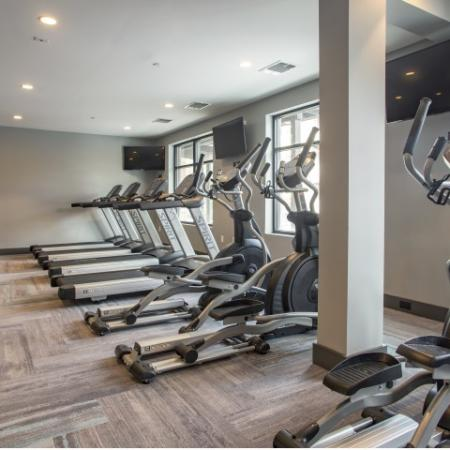 Fitness Center | st clair pa apartments | The Ashby at South Hills Village Station
