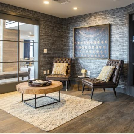 Clubroom | apartments for rent castle shannon pa | The Ashby at South Hills Village Station