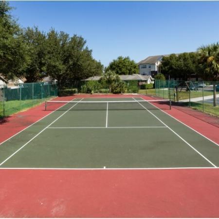 Alvista Sterling Palms fenced tennis court