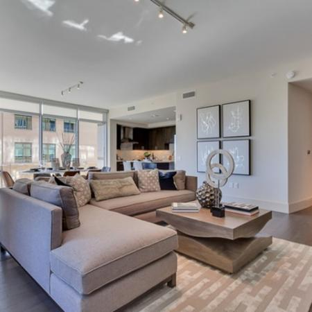 Luxurious Living Room | Dallas Uptown Apartments | Preston Hollow Village Residential