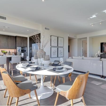 Luxurious Dining Room | Dallas Uptown Apartments | Preston Hollow Village Residential