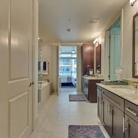 Elegant Master Bedroom | Apartments in Dallas TX | Preston Hollow Village Residential