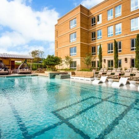 Resort Style Pool | Luxury Apartments In Dallas | Preston Hollow Village Residential