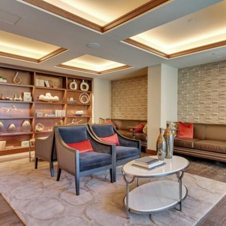 Interior Lobby | Dallas Uptown Apartments | Preston Hollow Village Residential
