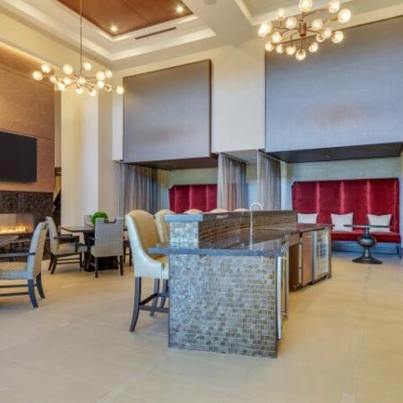 Spacious Community Club House | Luxury Apartments Uptown Dallas | Preston Hollow Village Residential