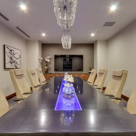 Conference Room | Luxury Apartments In Dallas | Preston Hollow Village Residential