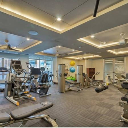 State-of-the-Art Fitness Center | Dallas Uptown Apartments | Preston Hollow Village Residential