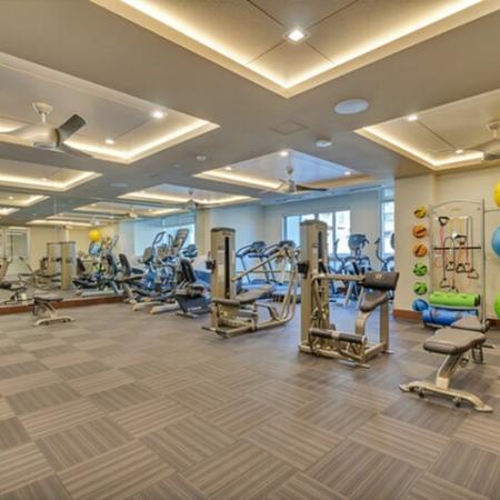 Cutting Edge Fitness Center | Luxury Dallas Apartments | Preston Hollow Village Residential
