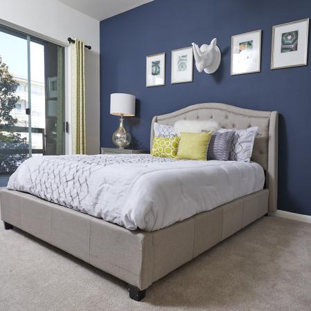 BEAUTIFUL BEDROOM AMPLE SPACE FOR KING OR QUEEN SIZED BED