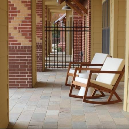 Private Patio and Private Balconies Available in Select Apartment Homes