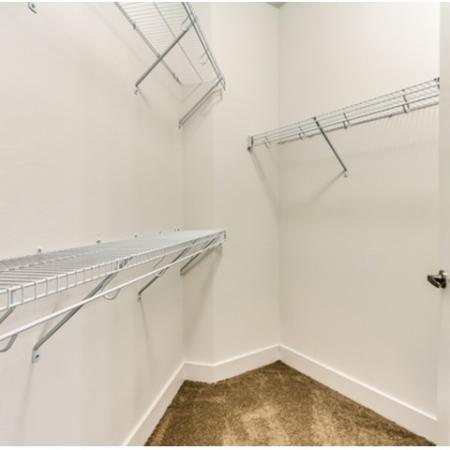 Large Walk in Closet with Hanging Space