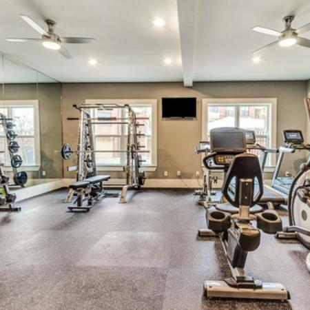 State of the Art Fitness Center with Cardio Machines and Free Weights