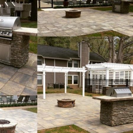 Fire Pit and Grilling Station | Apartments in Raleigh | VERT at Six Forks