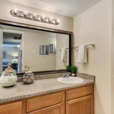 Elegant Bathroom | Apartments Dallas, TX | Lincoln Crossing