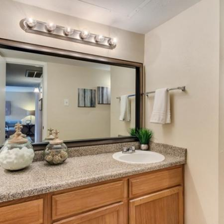 Elegant Bathroom | Apartments Dallas, TX | Lincoln Crossing