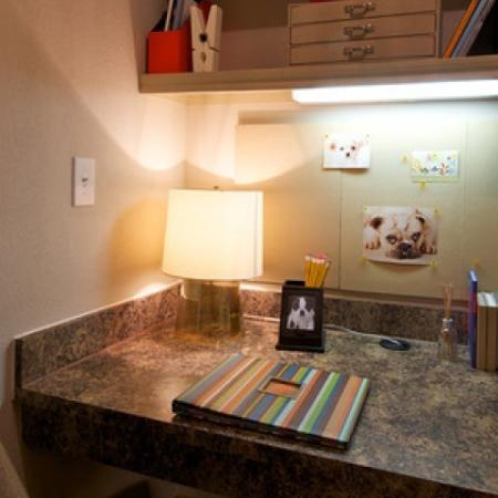 Elegant Desk Area | Apartments in Rockwell | Rockwall Commons