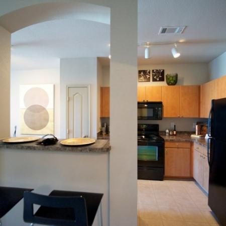 Modern Kitchen | Apartments in Rockwell | Rockwall Commons