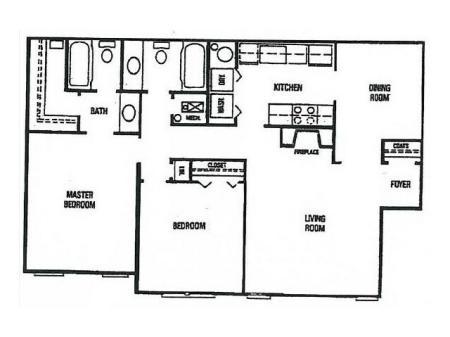 2 bedroom Upgraded-Vaulted Ceilings