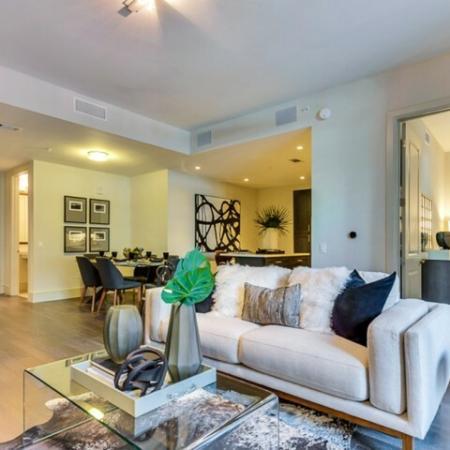Elegant Living Area | Apartments in Dallas TX | Preston Hollow Village Residential