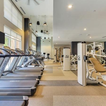 Resident Fitness Center | Apartments in Dallas TX | Preston Hollow Village Residential