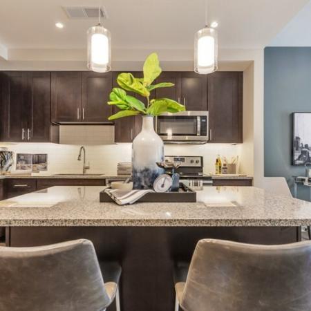Modern Kitchen | Apartments in Dallas TX | Preston Hollow Village Residential