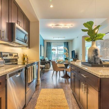 Elegant Kitchen | Luxury Apartments In Dallas | Preston Hollow Village Residential