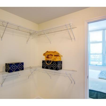 Spacious Closet | Arlington Apartments | Siena Park Apartments
