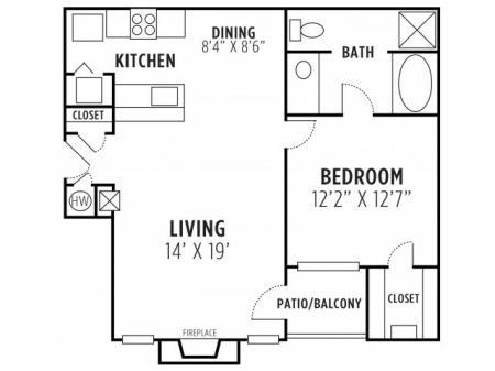One Bedroom One Bath Apartment Lithia Springs GA
