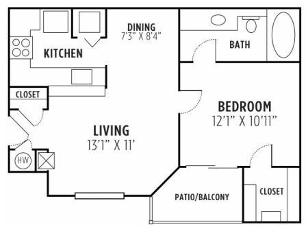 One Bedroom One Bath Lithia Springs GA