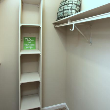 Who doesn't love large closets?!