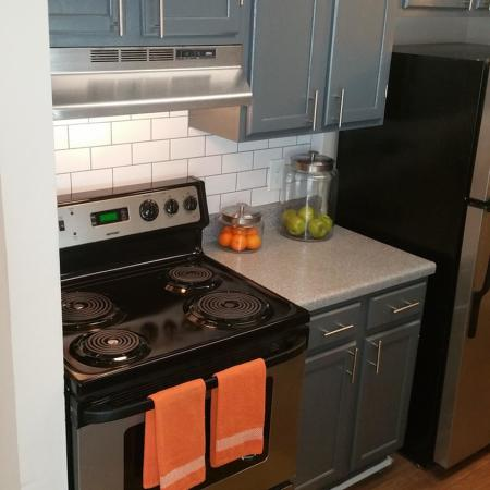 Recently renovated kitchens!