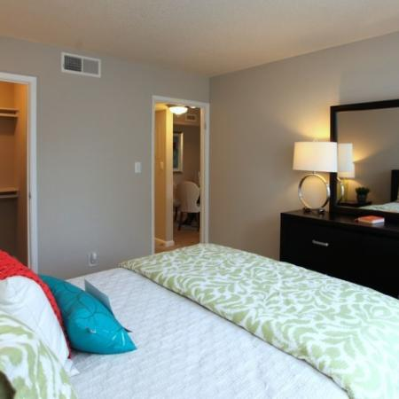 Both bedrooms in 2x2 have GREAT SPACE!