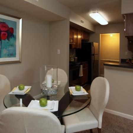 Well appointed dining areas for easy entertaining!