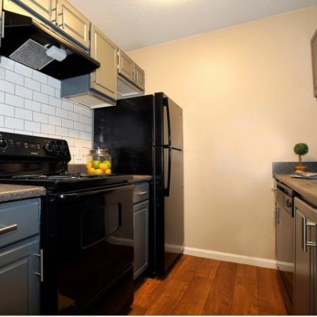 Renovated Kitchen with Ample cabinet and counter top space