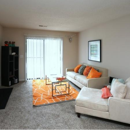 Spacious Living room with Fire place and Patio / Balcony